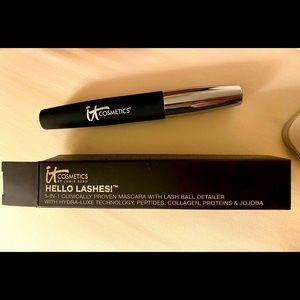 COPY - It Cosmetics Hello Lashes, new in box 5-in-one, lash hydrator, lash ball